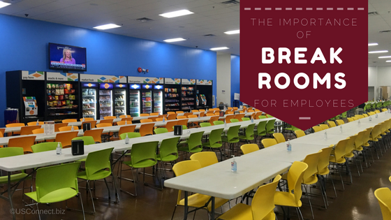 How important are break rooms to your employees?