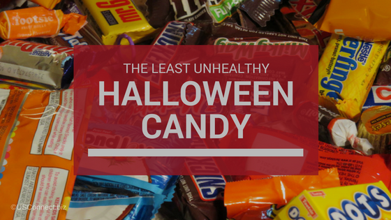 What's the least unhealthy Halloween Candy?