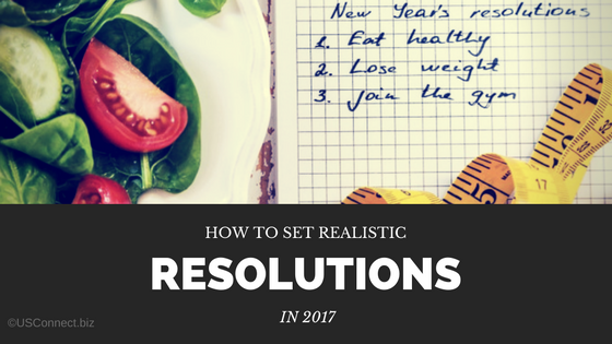 Setting realistic resolutions for the new year