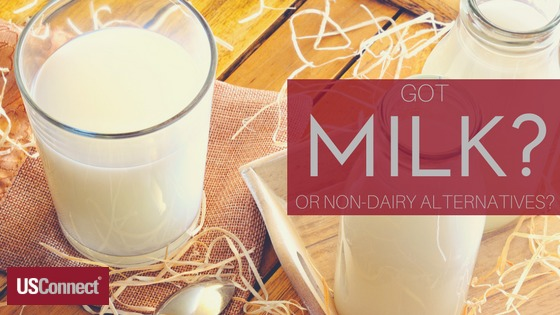 Milk and non-dairy alternatives