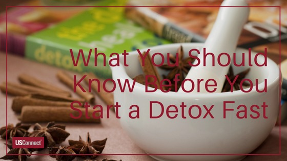 Before you do a detox fast